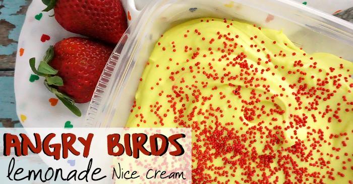 angry birds lemonade nice cream fb