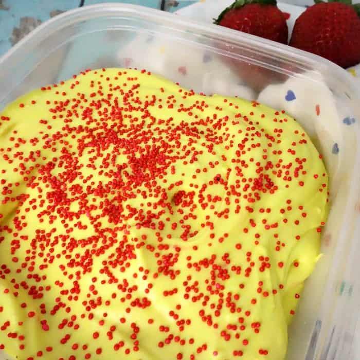 easy dairy-free ice cream recipe that tastes like lemonade sq