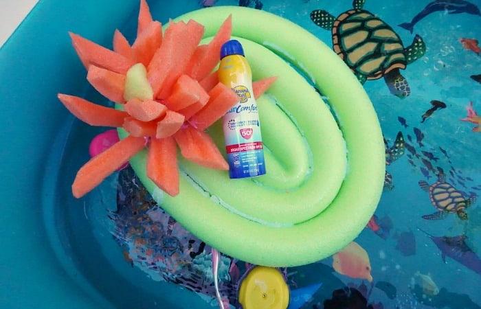 easy pool noodle craft idea feature