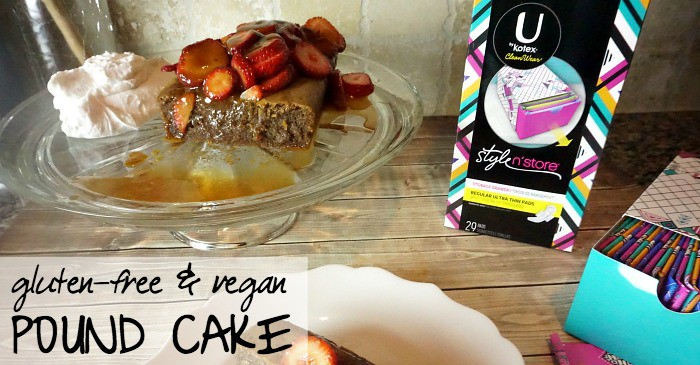 gluten-free & vegan pound cake recipe fb