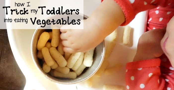 how I trick my toddlers into eating vegetables FB