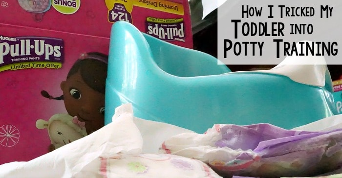 how I tricked my toddler into potty training fb