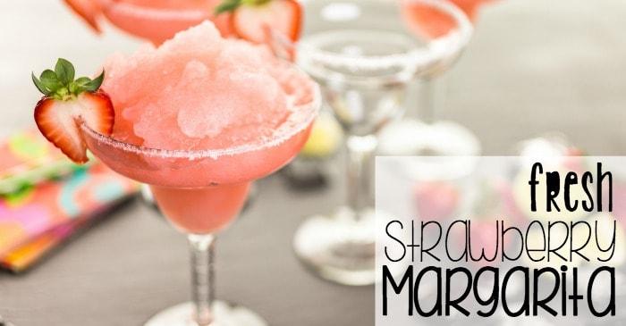how to make a fresh strawberry margarita fb