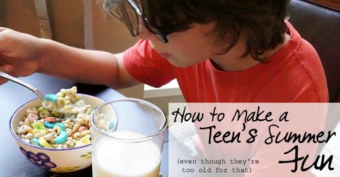 how to make a teen's summer fun fb