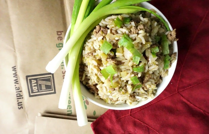 how to make homemade dirty rice feature