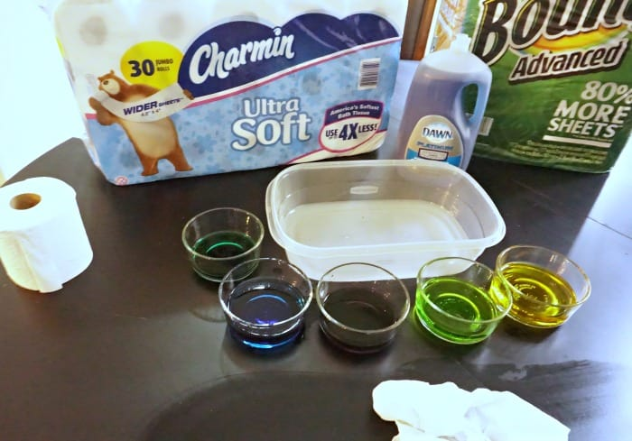 how to make rainbow sensory filler products