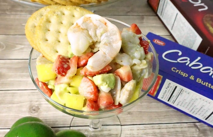 how to make shrimp ceviche with fruit feature