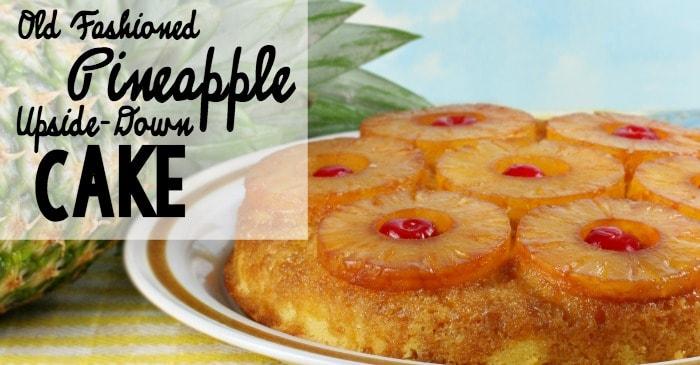 old fashioned pineapple upsidedown cake recipe fb