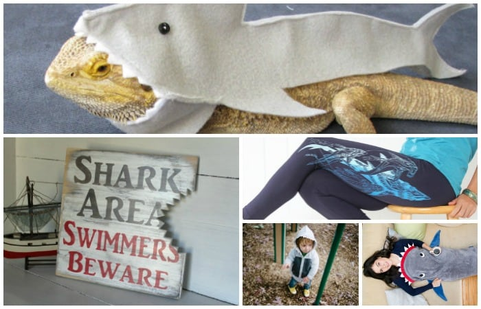 ridiculous shark week gift ideas feature & All Things Absurdly Shark (because Shark Week is Coming and ...