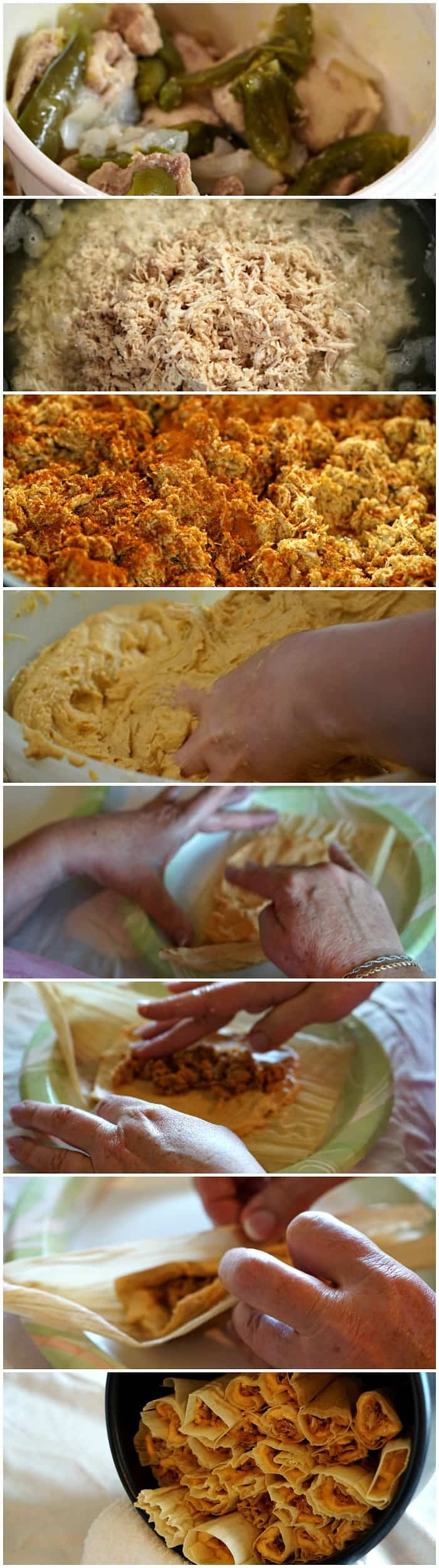 tutorial for making tamales like at the restaurant