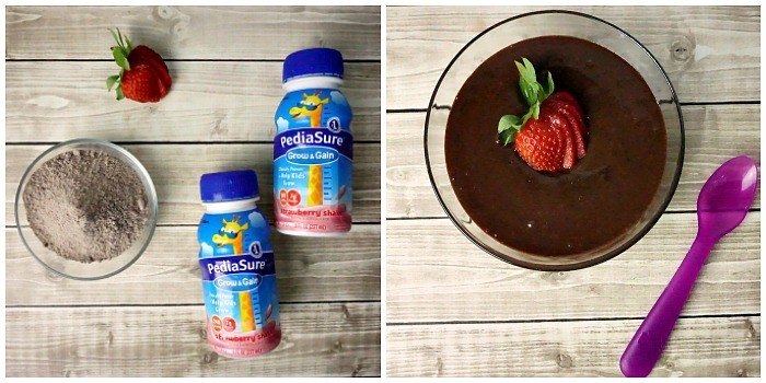 what to do to get a toddler to gain weight pudding