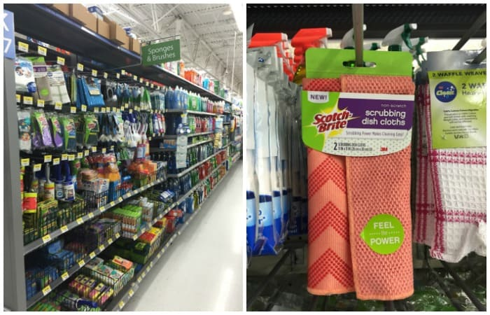 where to find scotch-brite dish cloths instore