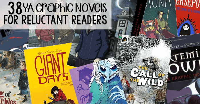38 ya graphic novels for reluctant readers fb