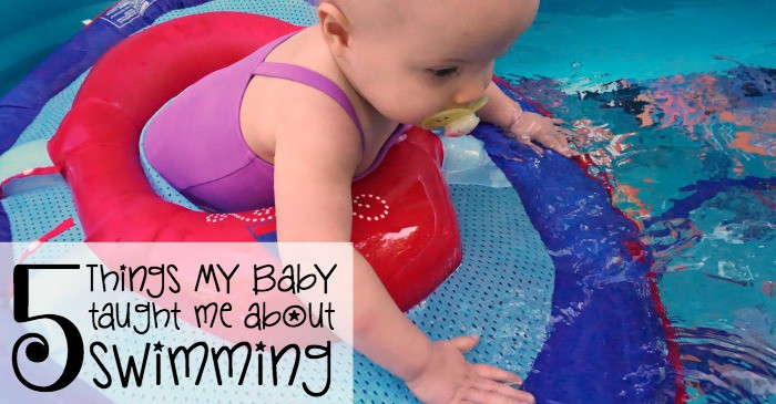 5 things my baby taught me about swimming fb