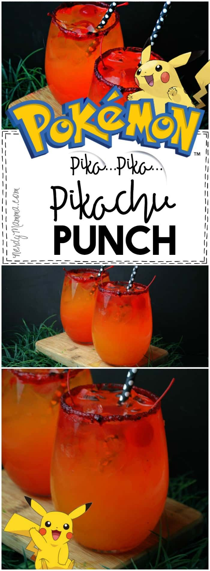 My kids are going to LOVE this recipe for Pikachu Punch--So yummy and SO fast!
