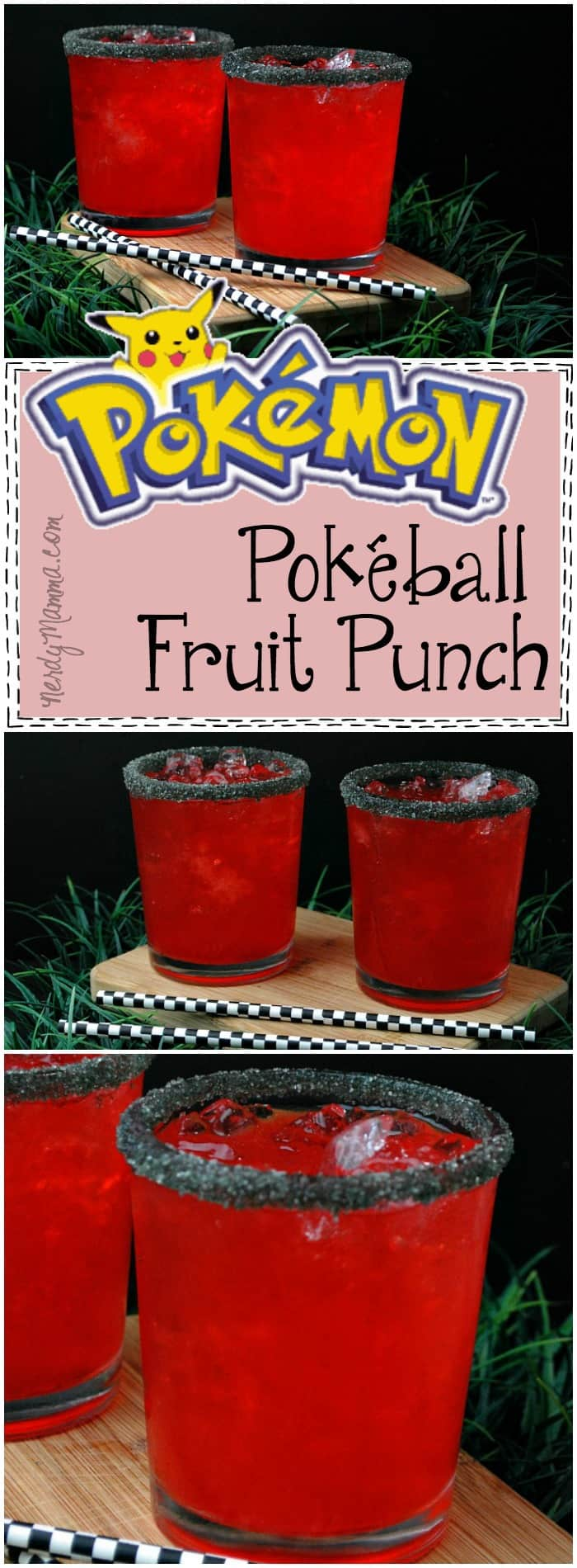 OMG! This is the BEST recipe! A Pokeball Fruit Punch?! Awesome. So simple--and sounds so yummy. I can't wait to make it for my next Pokemon Go! party!