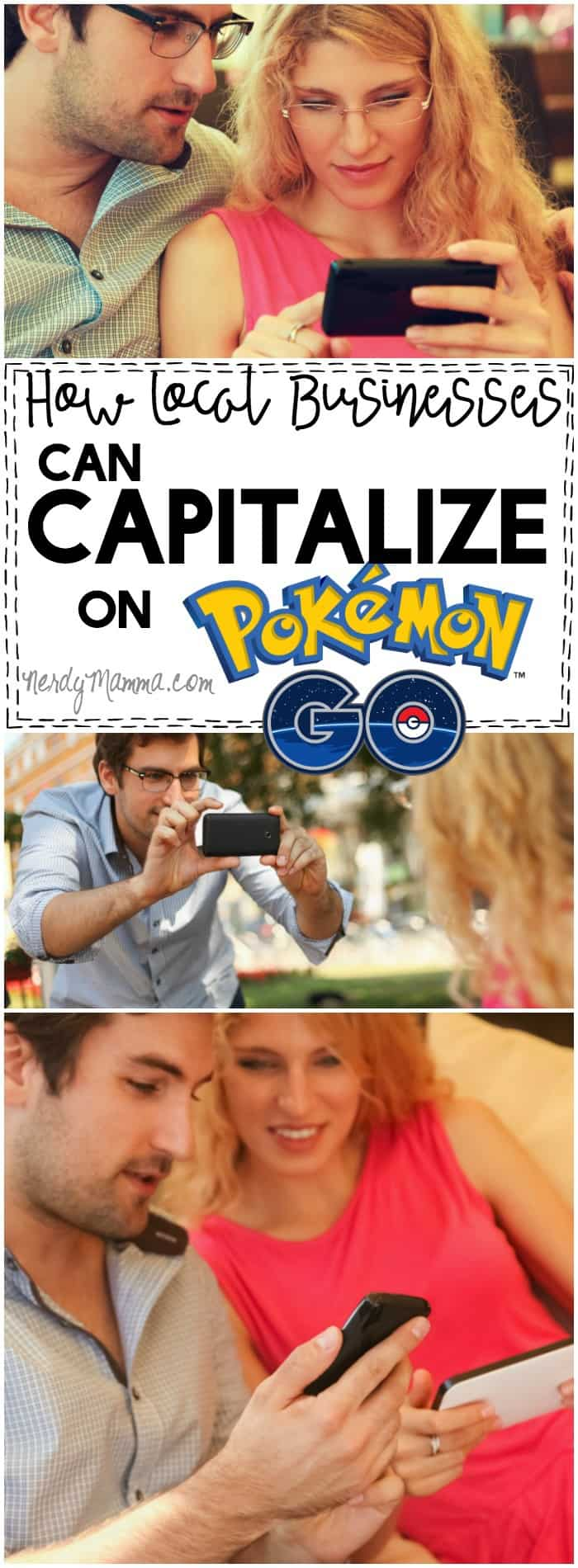 This is a great set of ideas to help local businesses use Pokemon GO and help the businesses get more customers. LOVE!