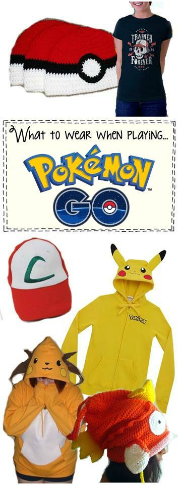 This is the perfect list of EVERYTHING you need to wear for a good Poke-Hunt!