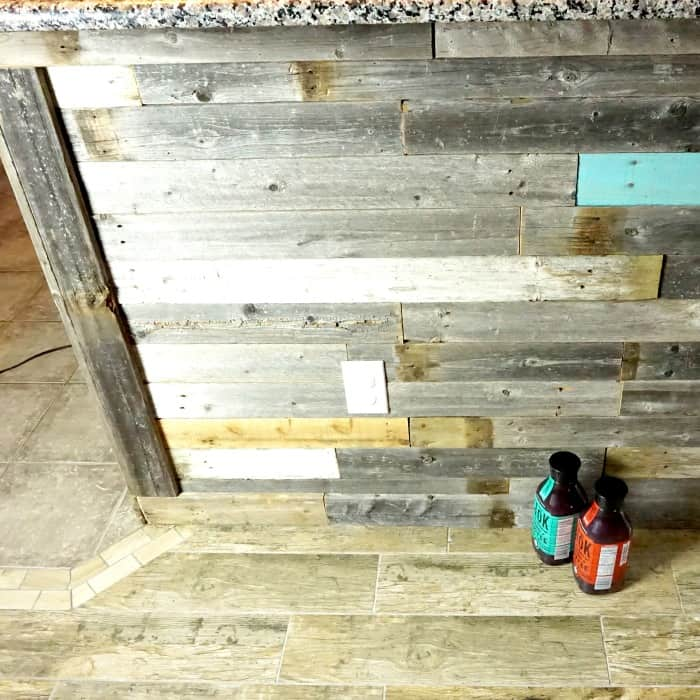 assemble a wood wall quickly sq