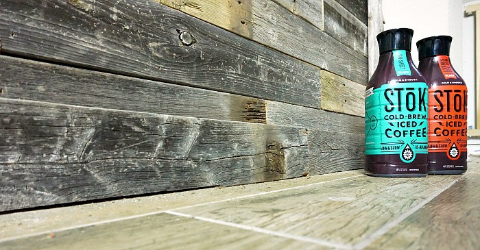 easy DIY pallet wall project idea fb