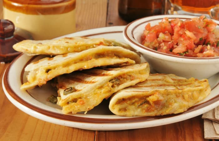easy quesadilla recipe fea