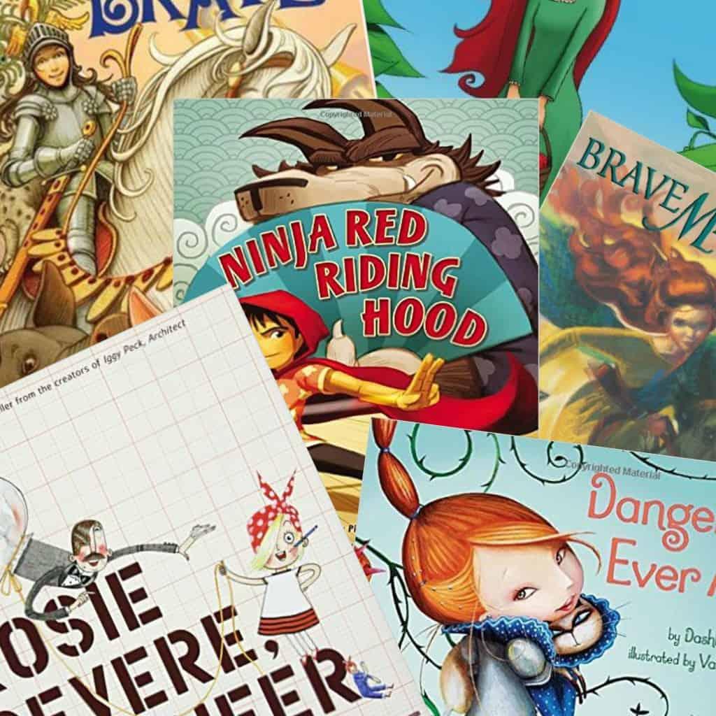 35 great girl-power books for little girls sq