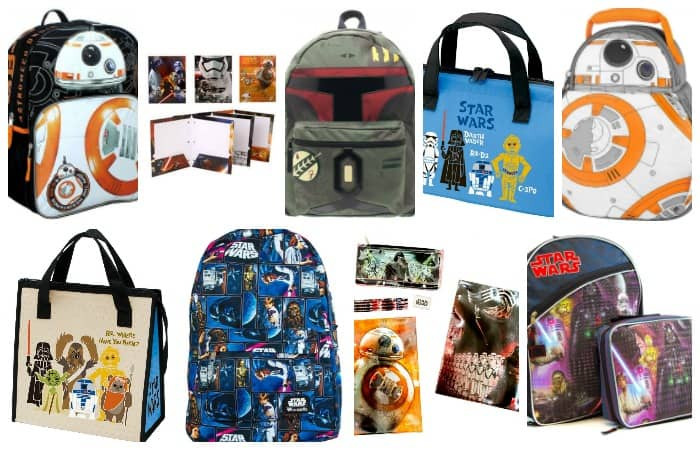 This Star Wars Back to School Stuff is so awesome--I kind of want it all for myself.