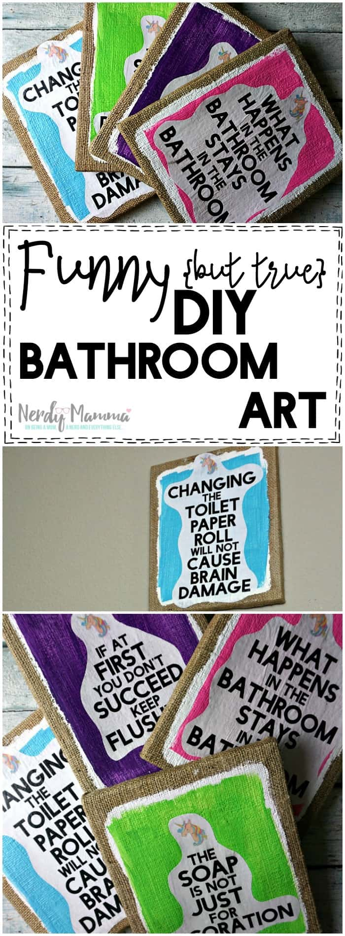Funny But True DIY Bathroom Art Free Printables SO CUTE LOL