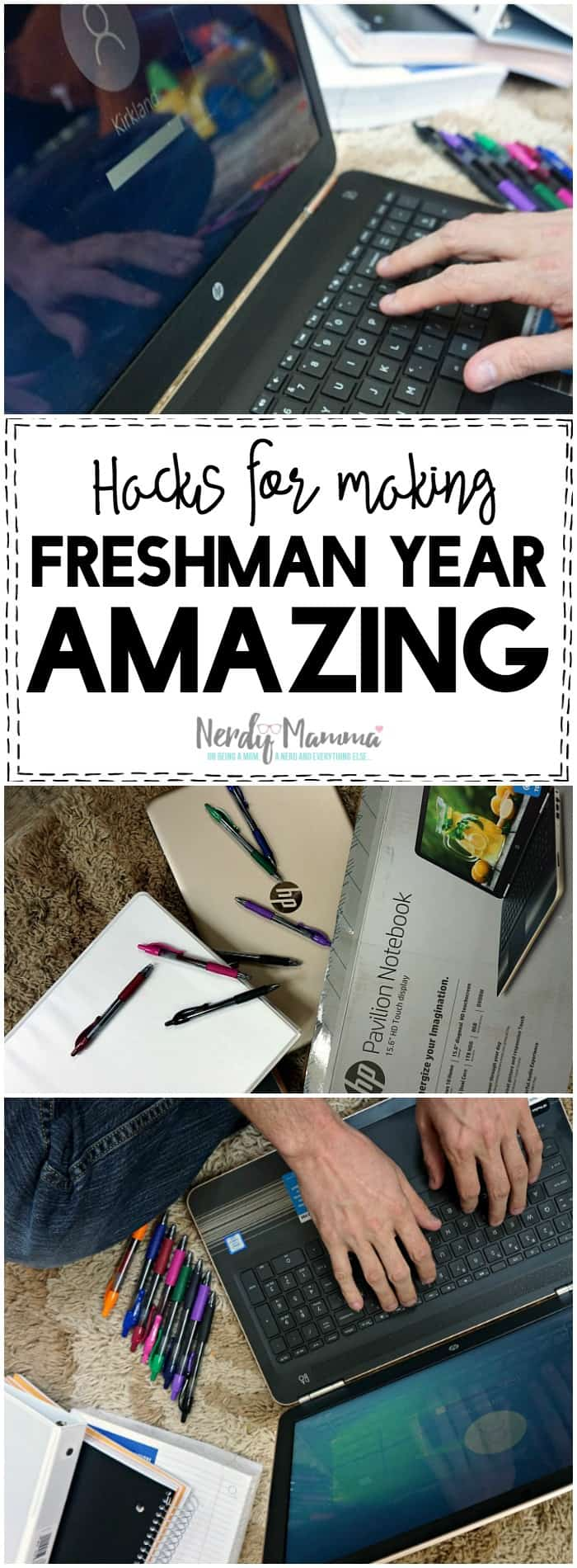 I love these 5 Hacks for Making Freshman Year Amazing. So smart to remind parents what the teens need instead of the other way around.