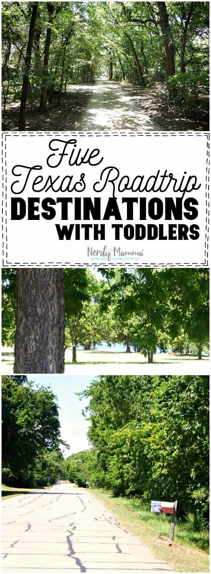 I love these ideas for road trip destinations with toddlers--in Texas! Such great ideas. LOL!