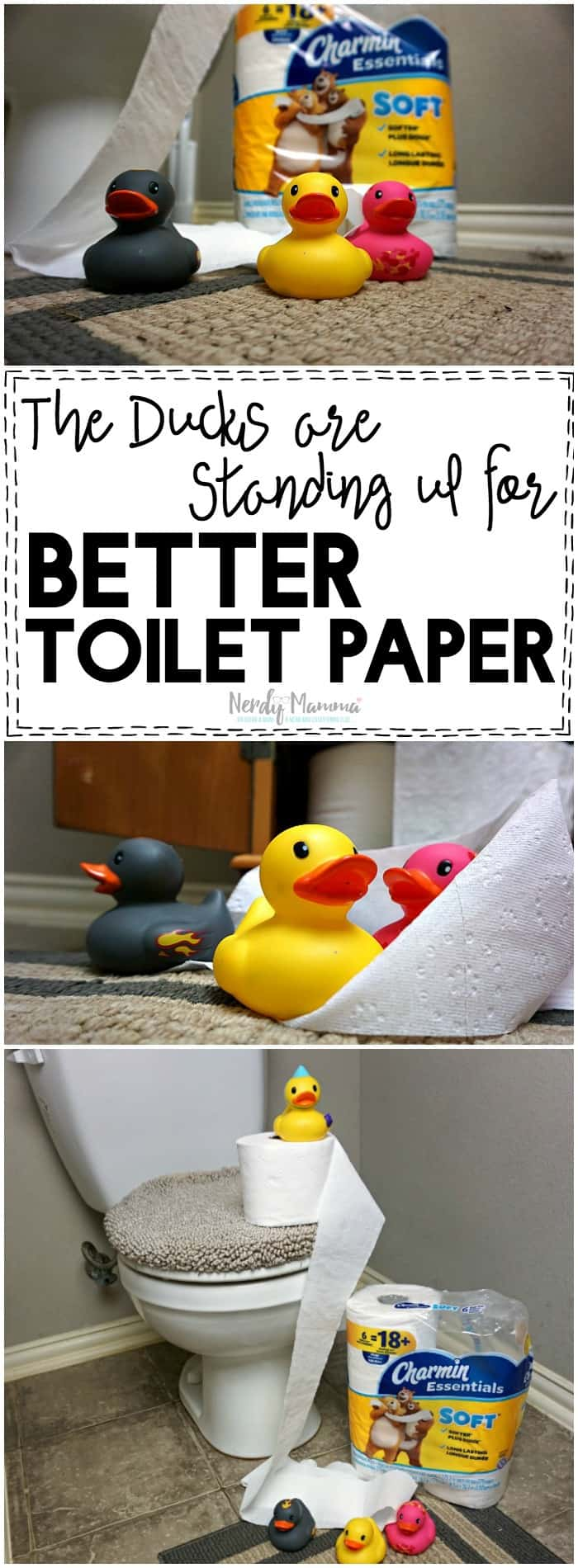 OMG! The ducks are rising up for better toilet paper! Worse than the Zombie Apocalypse! Except with toilet paper. Heh.