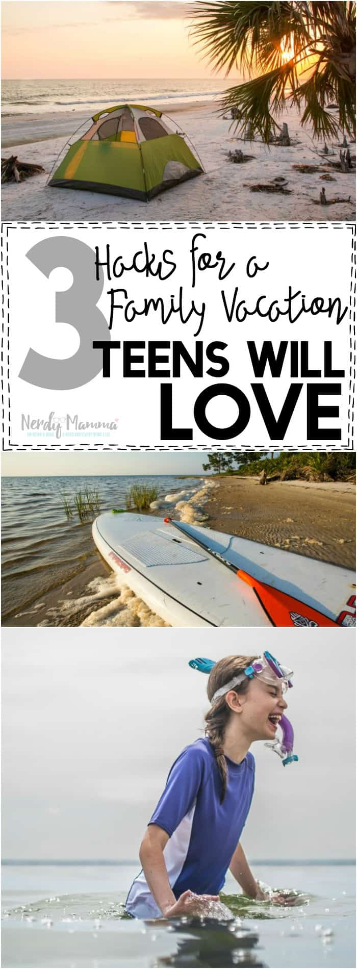 Oh, I LOVE these 3 hacks for a family vacation teens will like--so simple and SO PERFECT!