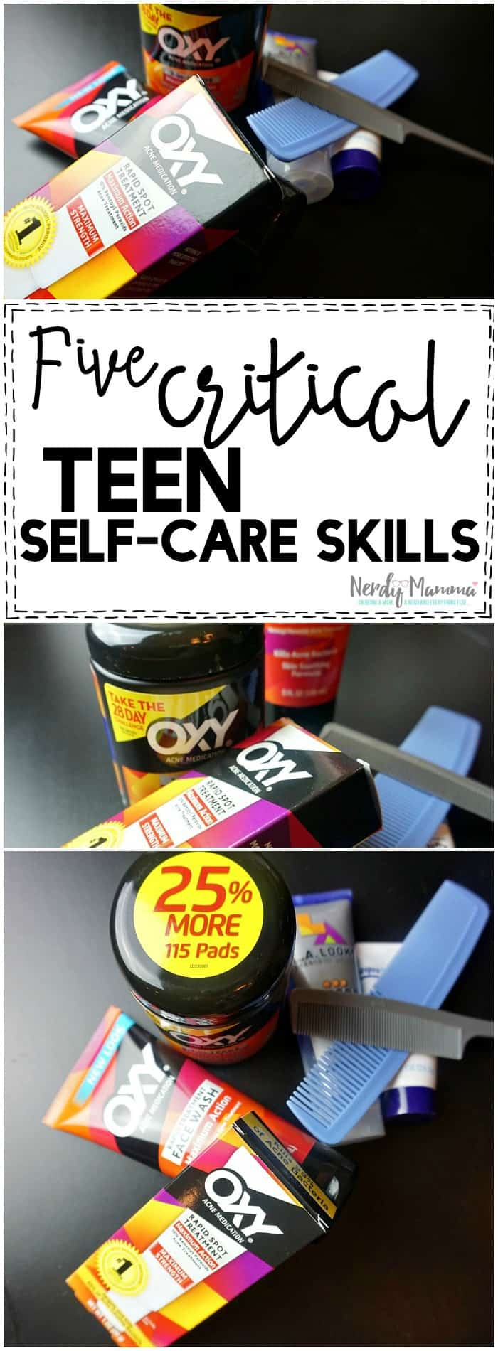 Oh, man, this mom nails it on the head--these are the top 5 Critical Teen Self-Care Skills that they need to know!