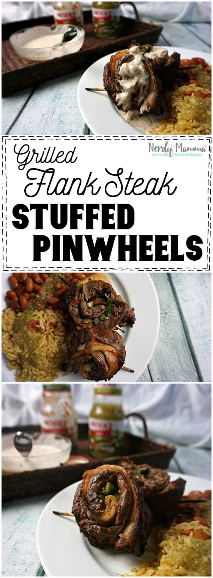 Oh my...this recipe for Grilled Flank Steak Stuffed Pinwheels...is so easy. I love it. And it's gluten-free, dairy-free...just hits all the right points (and it's got BACON! LOL!).