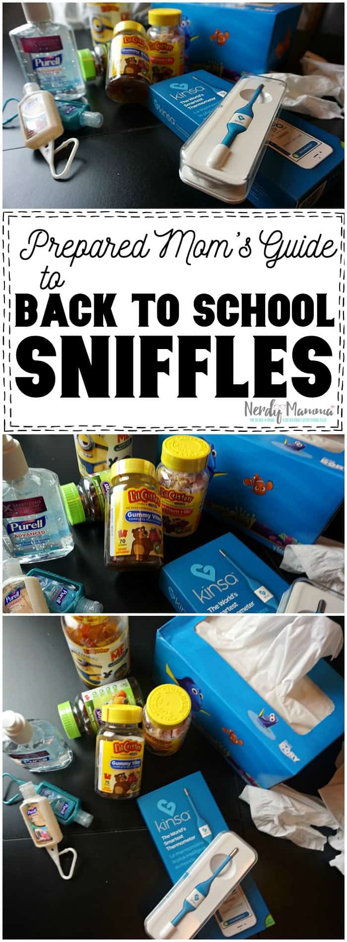 Oh, these ideas for being prepared for the back to school sniffles is so comprehensive...Love it!