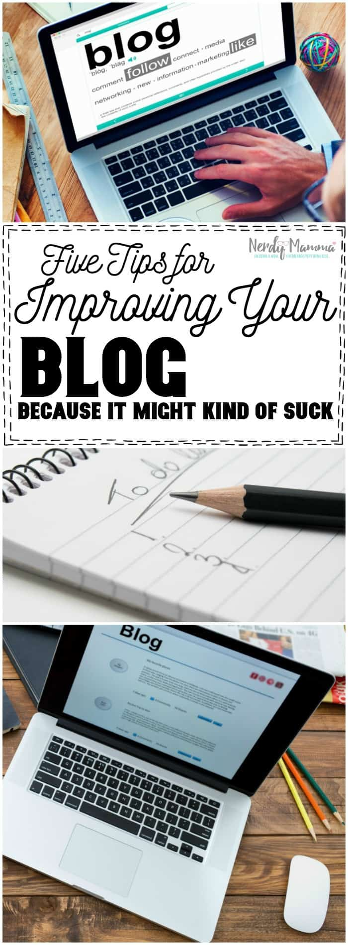 Oh, these tips for improving your blog are PERFECT for beginners. So simple...and even great reminders for blogs that have been around a while and are starting to struggle. I love it.