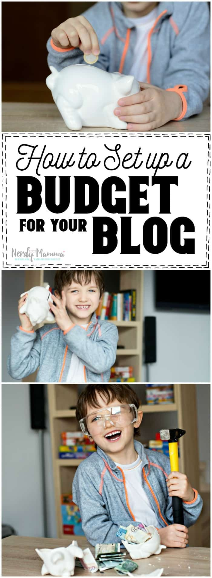 These are such simple tips for setting up a budget for your blog! I wish I'd done this before.