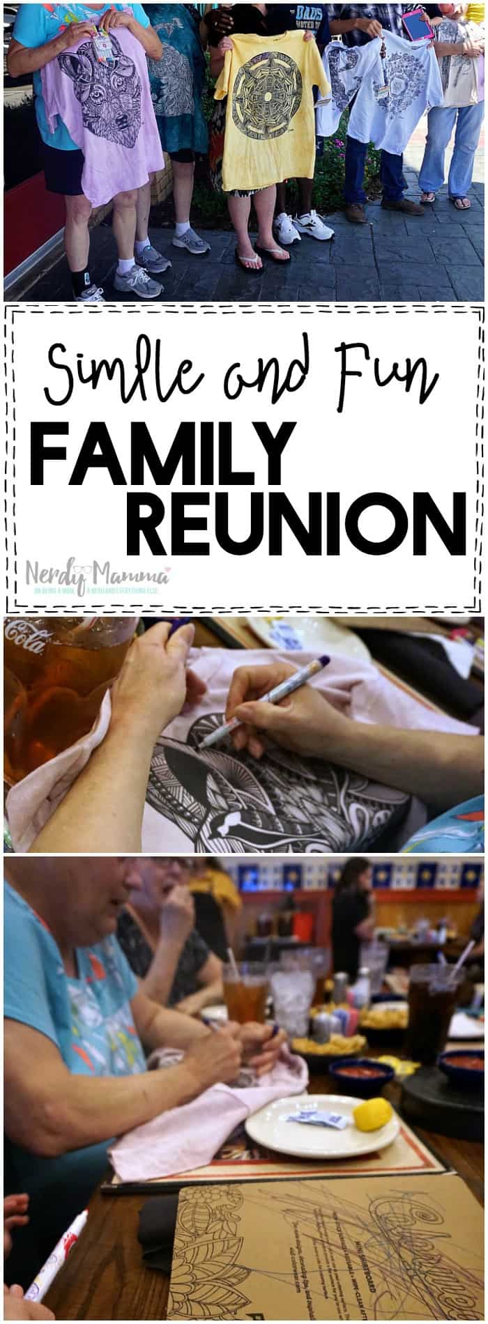 These simple and fun family reunion ideas are so easy! Love this!