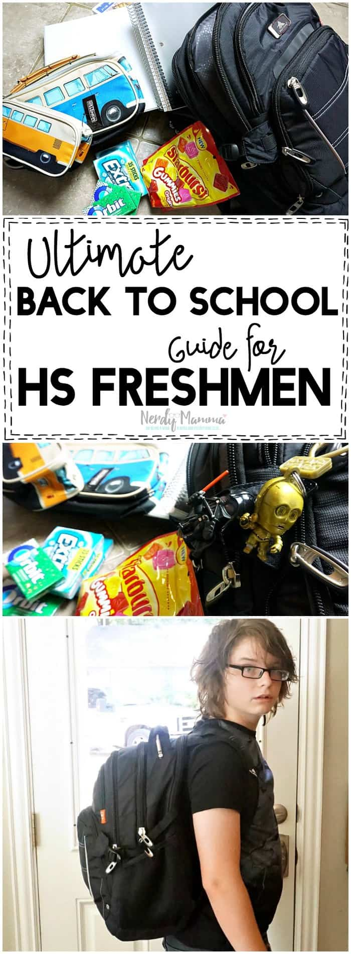 This Ultimate Back to School Guide for High School Freshman is so perfect! I need all of these things for my kid.