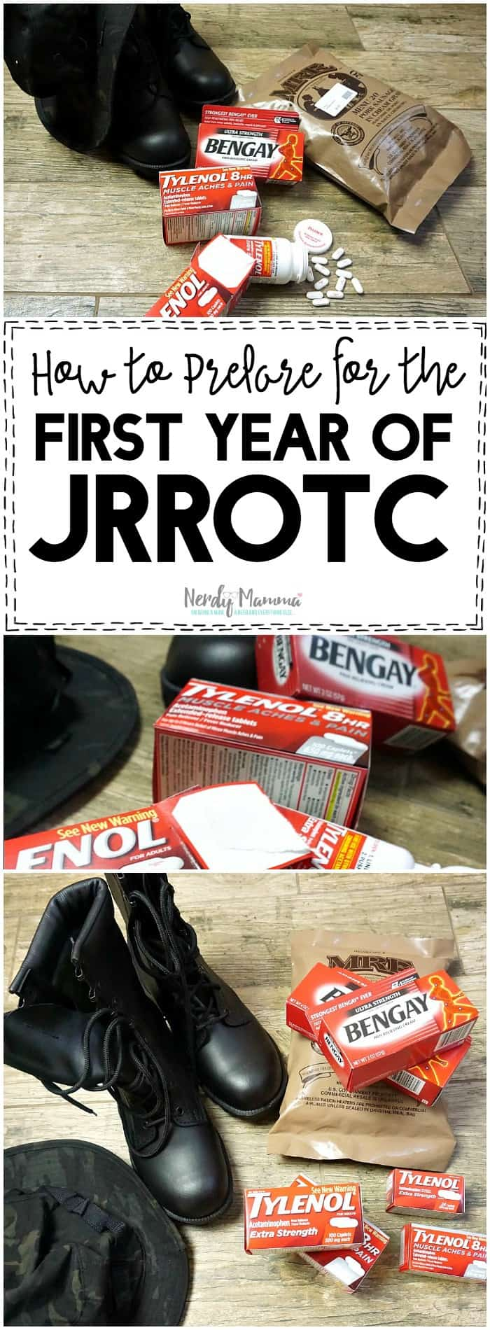 This mom is so fun. Her tutorial for How to Prepare for the First Year of JrROTC is just too sweet. And funny. LOL!