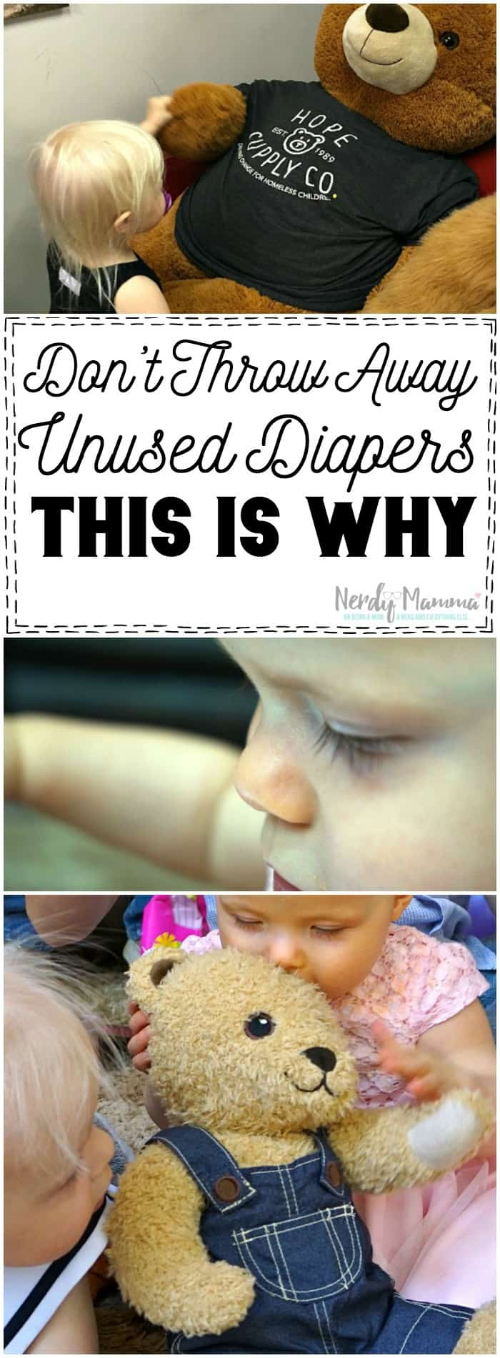 This mom's ideas on why NOT to throw away your unused diapers...well, I wish I'd known before.