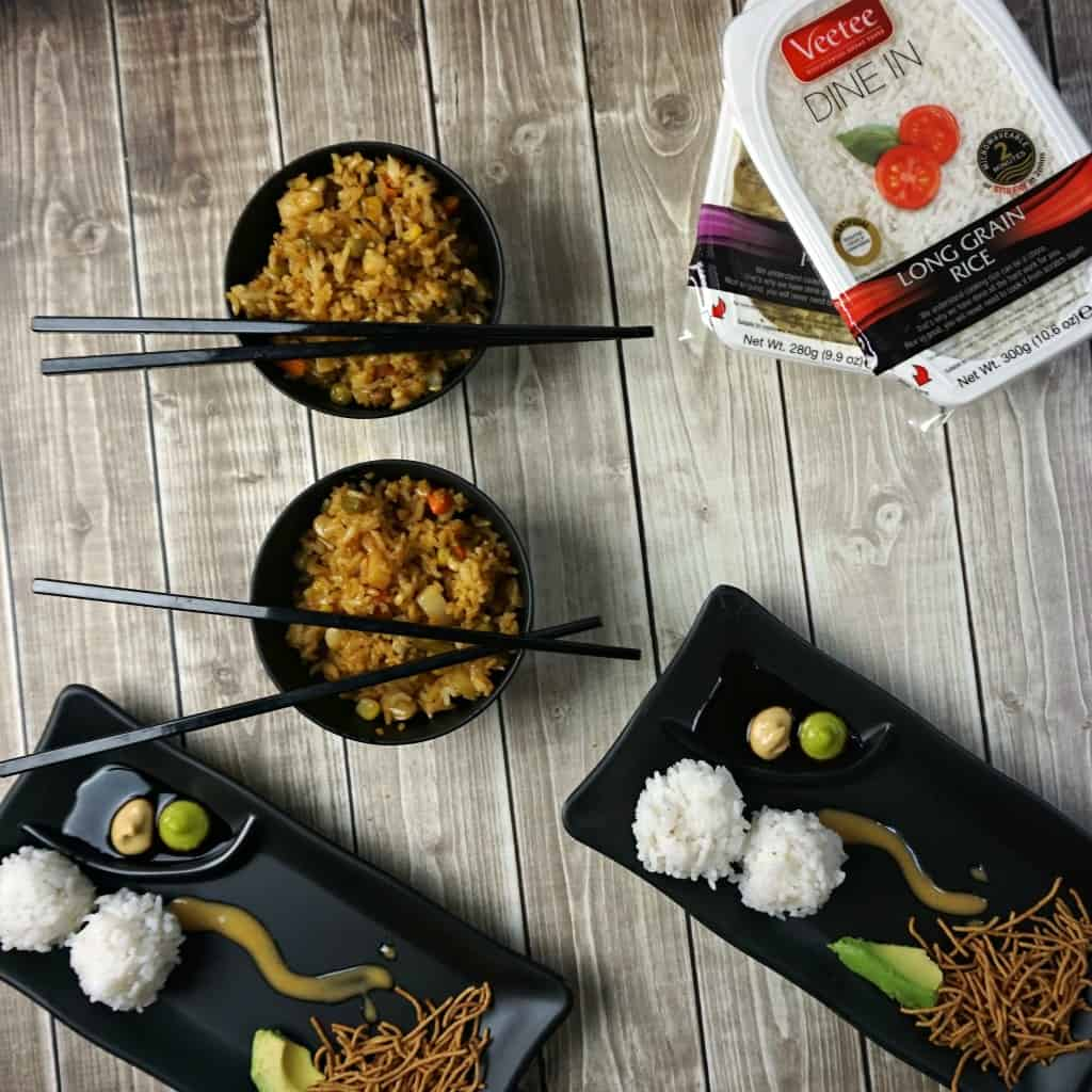 easy fried rice recipe sq