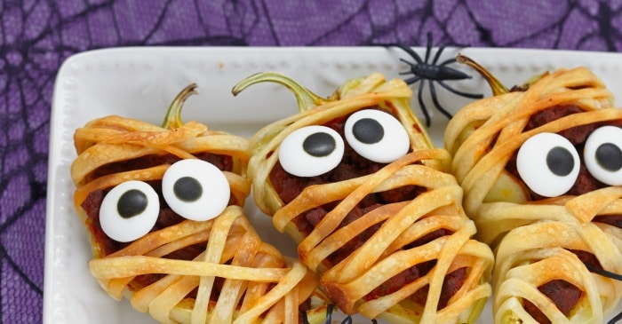 easy halloween appetizer recipe for kids fb