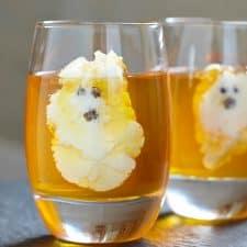 Ghostly Long Island Iced Tea Jello Shots
