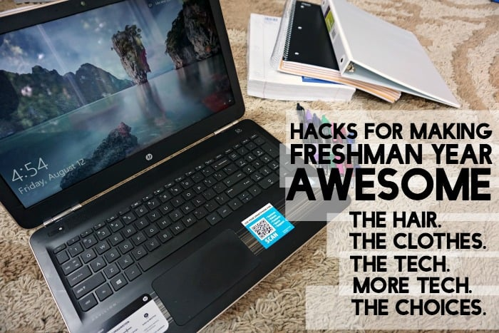 hacks for making freshman year awesome tut