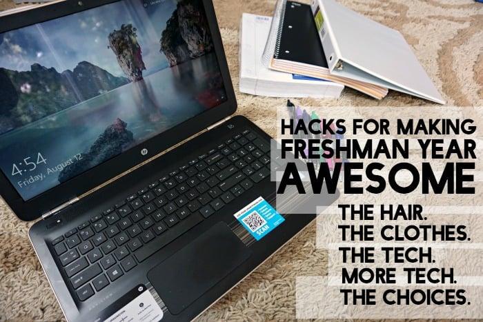 hacks for making freshman year awesome tut
