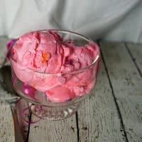 Vegan and Gluten-Free Bubble Gum Ice Cream