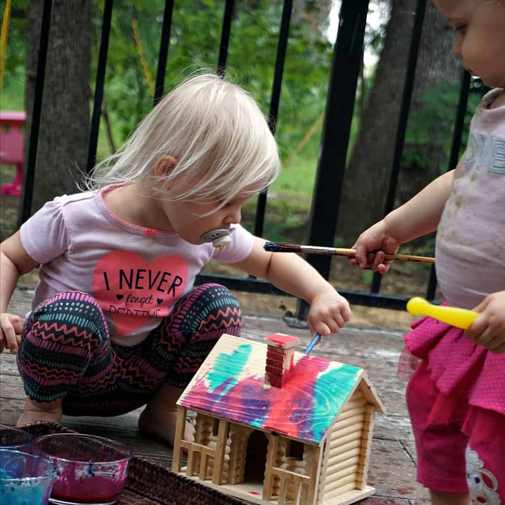 how to make homemade finger paint for toddlers sq