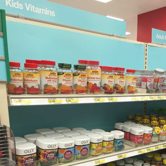kids vitamins nature made instore