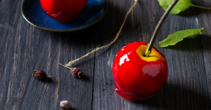 recipe for candy apples made with red hots candy fb